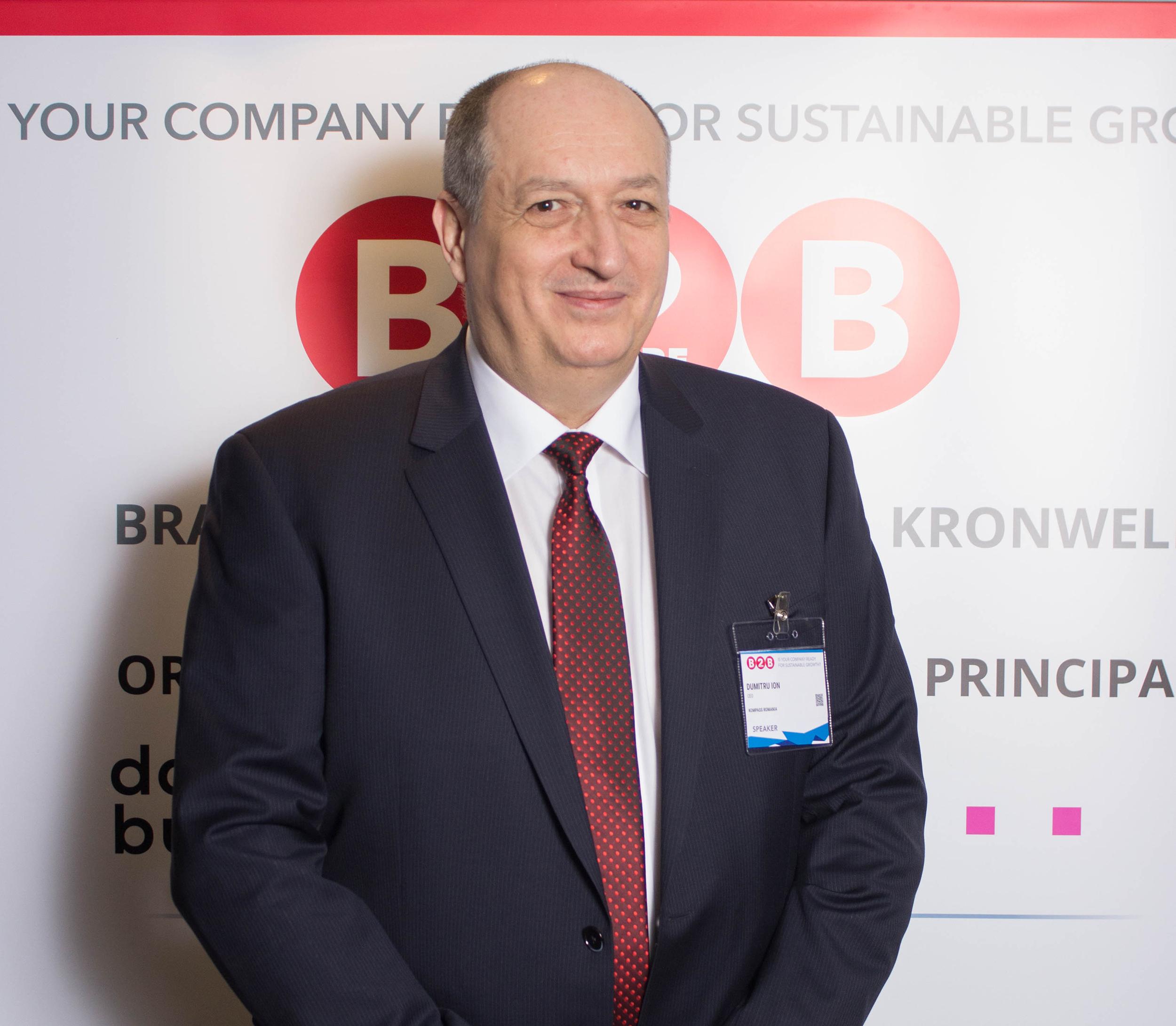 Dumitru Ion - CEO Doingbusiness ro - Cel mai mare eveniment de afaceri al anului din