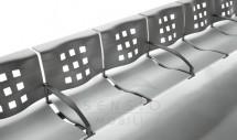 Bancheta pentru sala de asteptare SSB005 - Banchete pentru zone de asteptare