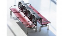 Bancheta pentru sala de asteptare SSB006 - Banchete pentru zone de asteptare