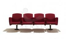 Bancheta pentru sala de asteptare SKB100 - Banchete pentru zone de asteptare