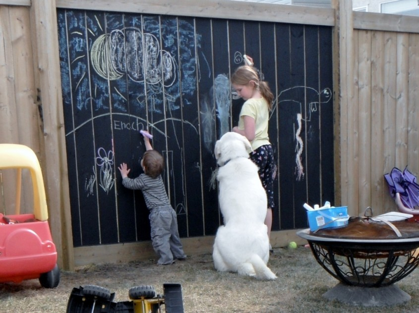 Gard sau tabla de scris? - Cateva idei altfel pentru garduletele decorative de gradina