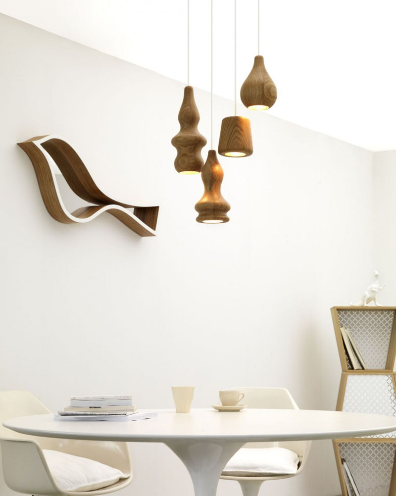 Abajururi din lemn cu forme deosebite - Abajururi din lemn cu forme deosebite