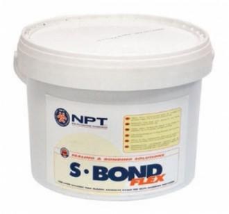 Adeziv gata de folosit, fara izocianati si solventi, foarte elastic S-BOND  FLEX - Sape autonivelante