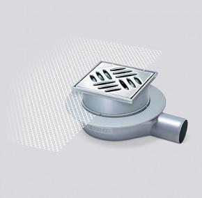 45750 - Corp sifon din ABS - Sifoane de pardoseala sistem 125