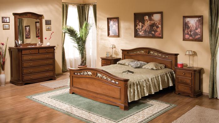 Dormitor Gino - Mobila de dormitor din lemn masiv: standard sau la comanda?