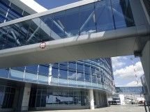 Terminal Aeroport Otopeni - Fatade cortina cu geamuri izolante Terminal Aeroport Otopeni
