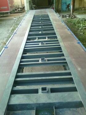 Montaj podea auto din placi Tego antiderapante din lemn stratificat - Montaj podele auto