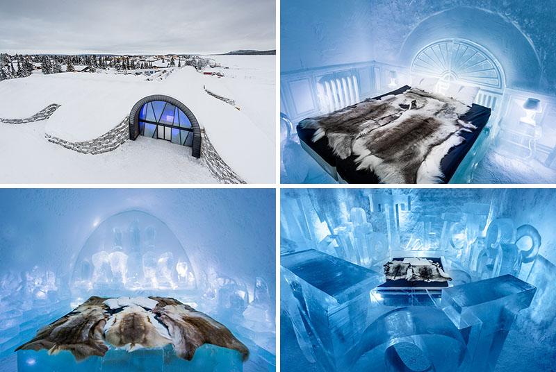 ICEHOTEL - Design deosebit pentru un hotel de gheata