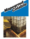 Mortar de reparatie a structurilor din beton, foarte fluid, cu aplicare prin turnare - Mapegrout Colabile (HI-Flow) - Tencuieli curente