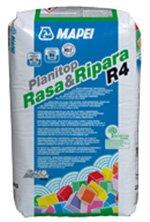 Mortar de reparatie si finisare, rapid, cu rezistente ridicate - PLANITOP SMOOTH & REPAIR (RASA&RIPARA R4) - Tencuieli curente
