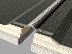Profil de dilatatie impermeabil pentru acoperis Hidroplasto WOD 550 - Profile de dilatatie pentru rosturi acoperis