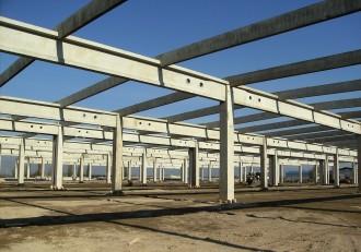 Elemente prefabricate din beton - MACON - Carrefour Deva - Structuri hale prefabricate din beton