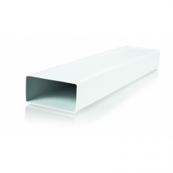 Tub rectangular PVC, 110*55mm, L 3000mm - Accesorii ventilatie tubulatura flexibila