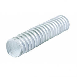 Tub flexibil PVC, diam 127mm, lungime 1m - Accesorii ventilatie tubulatura flexibila