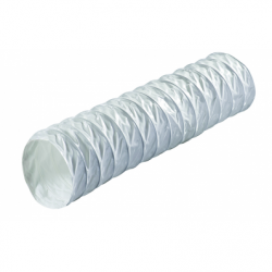 Tub flexibil Poliester, diam 100mm, lungime 6m - Accesorii ventilatie tubulatura flexibila