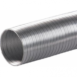 Tub flexibil aluminiu diam 120 mm/3m - Accesorii ventilatie tubulatura flexibila