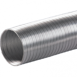 Tub flexibil aluminiu diam 200 mm/3m - Accesorii ventilatie tubulatura flexibila