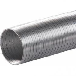 Tub flexibil aluminiu diam 80 mm/3m - Accesorii ventilatie tubulatura flexibila
