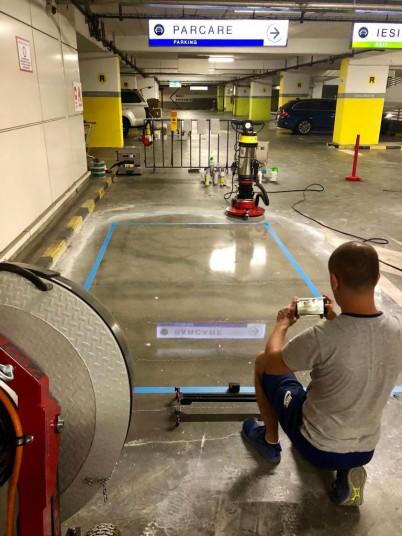 Slefuire - Reconditionare - beton - Servicii de slefuire beton pentru suprafete mari