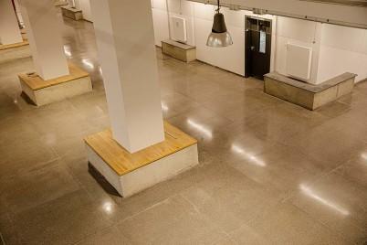 Slefuire - beton - Terrazzo - vedere de aproape - Servicii de slefuire beton pentru suprafete