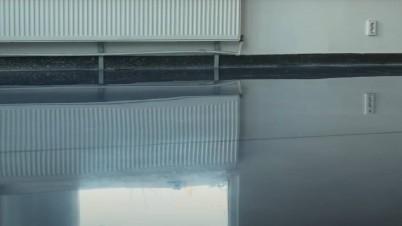 Aspect dupa slefuire - finisare beton - Servicii de slefuire beton pentru suprafete mari