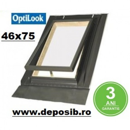 Fereastra luminator pod Optilook 46x75 - Ferestre luminator Optilook