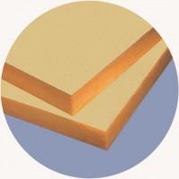 Placi din vata minerala de sticla URSA FDP 2/Vk - Termoizolatii din vata de sticla pentru fatade ventilate si pereti pe structuri usoare