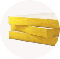 Placi usoare din vata minerala de sticla URSA AKP 5/Vv - Termoizolatii din vata de sticla pentru fatade ventilate si pereti pe structuri usoare