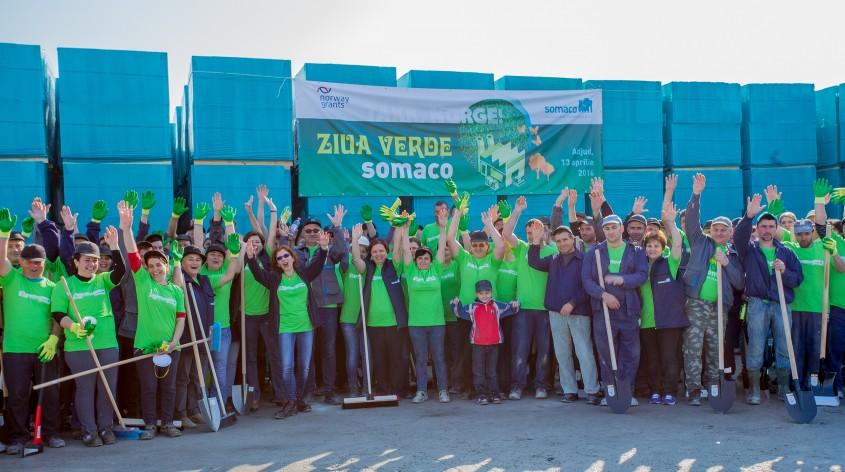 """Ziua Verde Somaco Adjud - Grupul de firme Somaco finalizeaza proiectul """"Modernizarea fabricii de BCA din"""