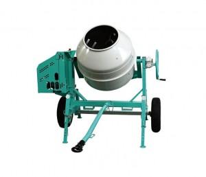 Betoniera profesionala cu motor pe benzina Robin, 3.2 kW - Imer Syntesi 250 R - Betoniere