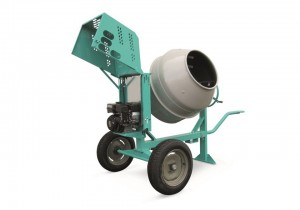 Betoniera profesionala, cu motor pe benzina, 4.2 kW - Imer Syntesi 350 B - Betoniere