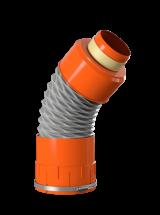 Racord flexibil aerisire - Elemente de fixare si etansare