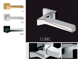 Maner pentru usi de interior si exterior - CUBIC - Manere pentru usi de interior si exterior