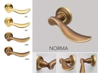 Maner pentru usi de interior si exterior - NORMA - Manere pentru usi de interior si exterior