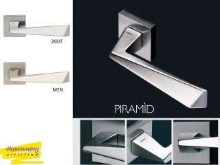 Maner pentru usi de interior si exterior - PIRAMID - Manere pentru usi de interior si exterior