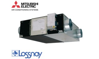 Montaj recuperator de caldura - MITSUBISHI ELECTRIC LOSSNAY 2 - Montaj recuperatoare de caldura