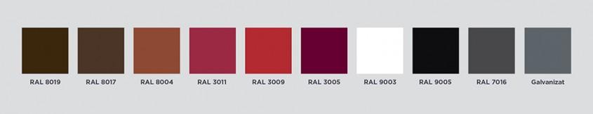 Gama culori Novatik Ronda - Culori Ronda