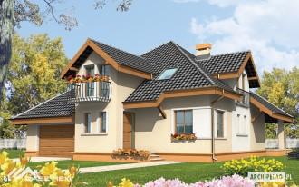 Casa familiala pe structura metalica usoara - Antonella - Case pe structura metalica - CASE MEXI