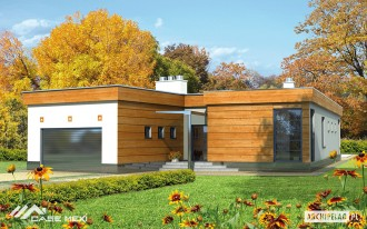 Casa moderna pe structura metalica usoara - Bonifacy - Case pe structura metalica - CASE MEXI