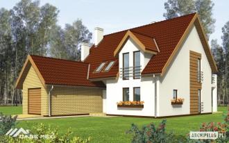 Casa familiala pe structura metalica usoara - Scarlet - Case pe structura metalica - CASE MEXI