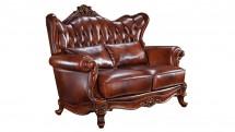 Canapea din piele, 2 locuri - Mobilier Colectia Toscana