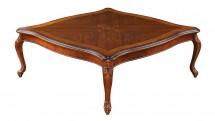Masuta patrata, Tip A, blat de lemn - Mobilier Colectia Toscana