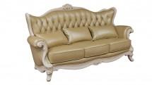 Canapea 3 locuri, cu tapiterie din piele - Mobilier Colectia Toscana