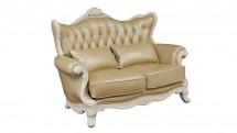Canapea 2 locuri, cu tapiterie din piele - Mobilier Colectia Toscana