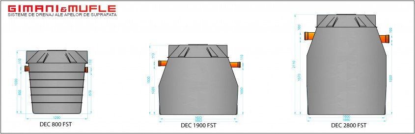 Separatoare de hidrocarburi pentru tratarea apelor reziduale - Separatoare de hidrocarburi pentru tratarea apelor reziduale