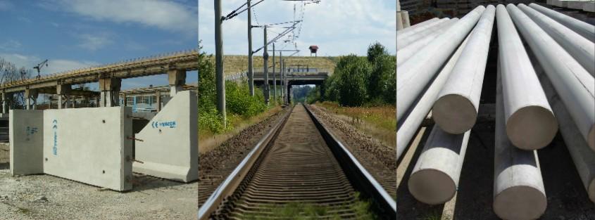 Elemente prefabricate Macon - infrastructura feroviara - Noutati in portofoliul de prefabricate MACON - elemente pentru