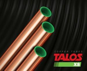 Țeava din aliaj de cupru TALOS®XS - Țevi TALOS®XS din aliaj de cupru foarte rezistent pentru aplicații de CO2 de inalta presiune