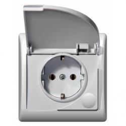 Priza schuko IP-44 - Aparataj electric efekt