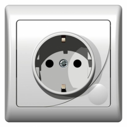 Priza schuko - Aparataj electric efekt