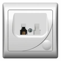 Priza telefon - Aparataj electric efekt